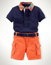 2PCS Baby Boys Dress T-Shirt +Short Pants Set Kids Summer Casual Clothes Outfits