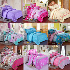 NEW Duvet Cover & Pillowcases Bed Quilt Cover Bedding Set Single Double King