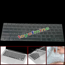 "Ultra Thin Clear KeyBoard TPU Cover Skin For MacBook Pro/Retina 13"" 15"" Air 11"""