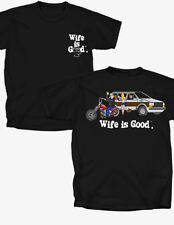 Wife is good Motorcycling - T-Shirt - Adult Sizes