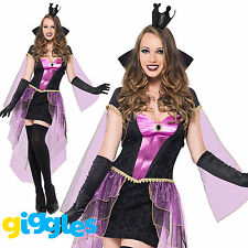 Mirror Mistress Costume Evil Queen World Book Day Week Womens Fancy Dress Outfit