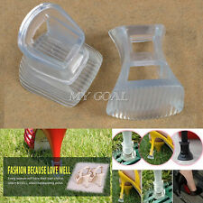 10 Pairs Clear Stiletto High Heel Protectors Covers Shoes Stoppers Narrow Repair
