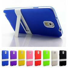 Ultra Thin Matte Kickstand Silicone Case Cover For Samsung Galaxy Note 3 N9000