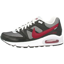 NIKE AIR MAX COMMAND GS SHOES GREY RED BLACK TRAINERS 407759-064 TRAX 90 95 1