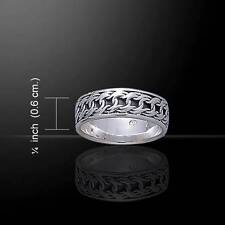 Celtic Knotwork Silver Ring TR263