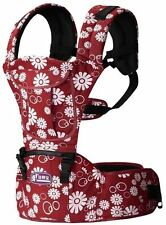 Baby Sling Toddler Wrap Rider Canvas Backpack Suspender Baby Carrier Hip seat