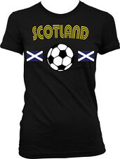 Scotland Scottish National Country Pride Soccer Football Juniors T-shirt