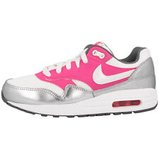 NIKE AIR MAX 1 GS SHOES TRAINERS WHITE PINK GREY 653653-108 LTD BW CLASSIC 90