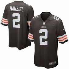 JOHNNY MANZIEL #2 NFL CLEVELAND BROWNS NIKE GAME JERSEY NWT JOHNNY FOOTBALL