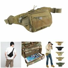 Tactical Sling Chest Bag Assault Pack Messenger Waist Shoulder Bag Backpack Hot