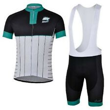 New Cycling Team Jersey Breathable Bike Bicycle Sports Shirts + Bib Shorts S-4XL