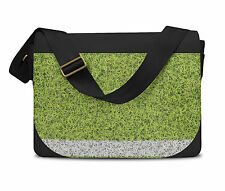 Football Sports Pitch Messenger Bag - Laptop School Shoulder Bag