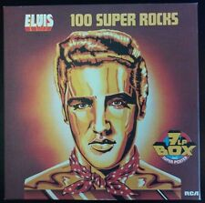 Elvis Presley 100 Super Rocks 7 LP Box Poster Germany LP