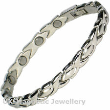 LADIES BIO HEALING MAGNETIC THERAPY BRACELET - ARTHRITIS PAIN RELIEF (68-MJ)