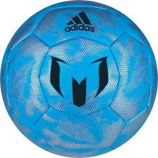 adidas F 50 Xite 2015 MESSI Soccer Ball Blue / Silver / Black  Brand New
