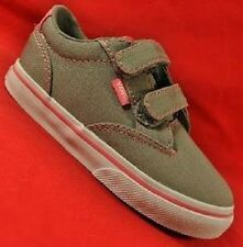 Girl's Toddler VANS WINSTON AC Gray/Pink Canvas Sneakers Skate Fashion Shoes NEW