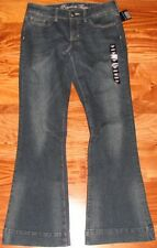 NWT GAP Women's Flared Leg Trouser Jeans Pants Dark Blue Size 0 / 25 1 / 25.5 R