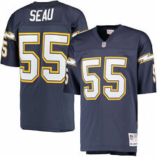 Mitchell & Ness San Diego Chargers Junior Seau TC Jersey