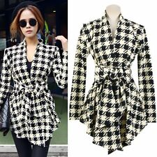 Autumn Women Slim Long Sleeve Jacket Thin Coat Outwear Parka Trench Cardigan