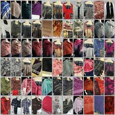 New Winter Women Jacquard Long Cashmere Wool Blend Soft Warm Wrap Shawl Scarf