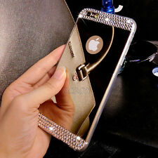 Deluxe Ultra-thin Mirror Transparent TPU Case Cover Skin For Various Cell Phone