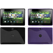 *Choose 1* Two-Tone TPU Candy Cover Carrying Case For RIM BLACKBERRY PLAYBOOK