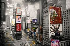 New A Bird's Eye View of Times Square New York City Poster