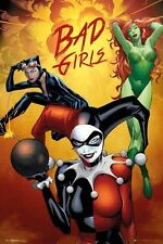 DC Comics Bad Girls Montage Poster 61x91.5cm