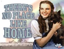 New The Wizard Of Oz There's No Place Like Home Metal Tin Sign