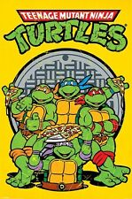 Teenage Mutant Ninja Turtles Pizza Power TMNT Poster 61x91.5cm