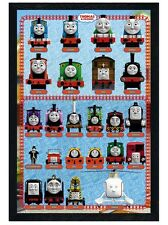 New Black Wooden Framed Thomas the Tank Engine Thomas & Friends Poster