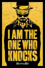 New Breaking Bad I Am The One Who Knocks Poster