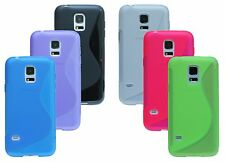 Samsung Galaxy S5 Mini G 800F Shell Mobile Phone Case Pouch + Screen protector