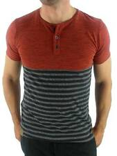 O ' Neill T - Shirt Tee Top Originals Stack Red Slim Fit Striped