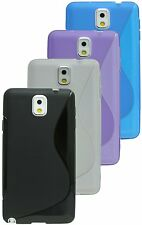 Samsung Galaxy Note 3 N9005 Silicone Protective Accessories Case Rubber + foil