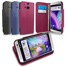 GENUINE COTECHS LEATHER WALLET FLIP STAND CASE FOR 2014 HTC ONE M8