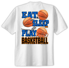 Basketball T-Shirt Jersey Eat Sleep New Youth - Adult
