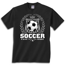 Soccer Laurel T-Shirt Jersey Short Sleeve or Long Sleeve New Tee Youth and Adult