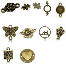 Charm Connectors Bronze Tone M0993