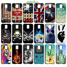CUSTODIA COVER CASE TPU MORBIDA PER SAMSUNG GALAXY S5 MINI G800 G870 FANTASIA D