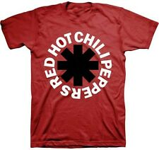 AUTHENTIC RED HOT CHILI PEPPERS BLACK ASTERISK ROCK MUSIC T SHIRT S M L XL 2XL
