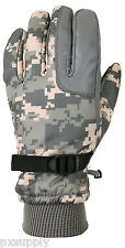 Gloves Tactical Cold Weather ACU Digital Camo Military Style Rothco 3669