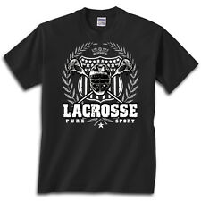 Lacrosse Laurel T-Shirt Jersey Short and Long Sleeve Tee New Youth & Adult Sizes