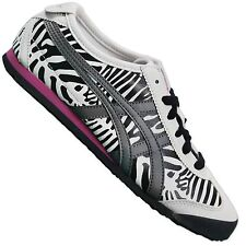 ASICS ONITSUKA TIGER MEXICO 66 ZEBRA WOMEN'S SNEAKERS D46RJ/0111 SHOES WHITE