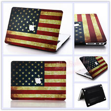 "USA Flag Frosted Matt Hard Case Cover for MacBook 12"" Air Pro 11"" 13"" 15"" Retina"