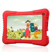 Kids Tablet IPS 7'' Quad Core 1GB 8GB Android 4.4 KitKat Bluetooth WiFi Dual Cam