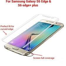 Clear HD Curved Full Cover Screen Protector Film For Samsung Galaxy S6 Edge Plus