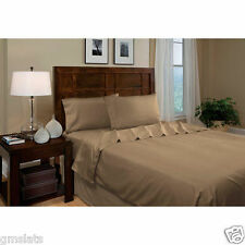 BRAND NEW Luxury Microfiber KING 3 Piece Sheet Set BRONZE
