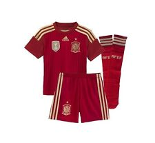 adidas SPAIN World Cup 2014 Toddler Home Soccer Kit Brand New Red /  Gold