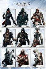 Assassins Creed Characters Poster 61x91.5cm